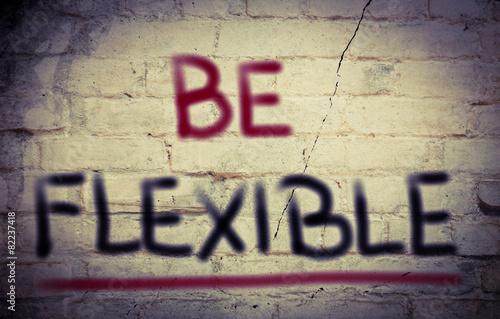 Fotografie, Obraz  Be Flexible Concept