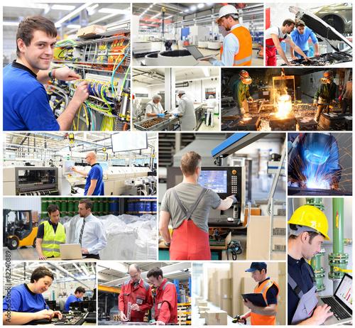 Fotografia  Berufe/ Arbeiter in der Industrie - Logistik - Handwerk