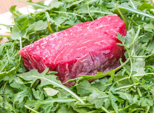 Piece of beef fillet Poster