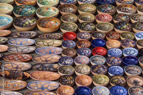 Staande foto Tunesië Tunisia market