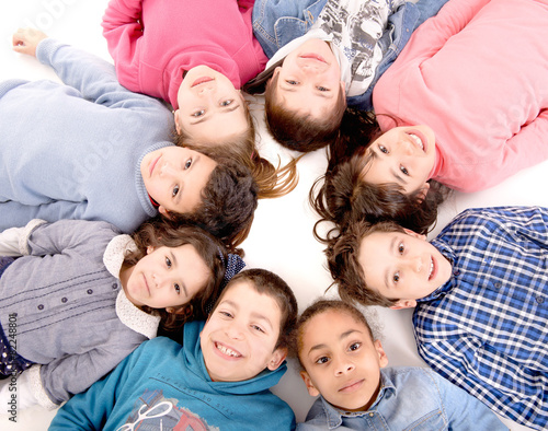 Fototapeta little kids obraz na płótnie