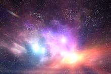Galaxy, Space Sky. Stars, Ligh...