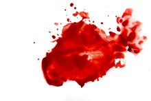 Blood Smear Splatter