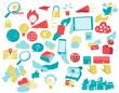 Serie Icone Innovazione Digitale