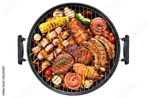 Aluminium Prints Grill / Barbecue Grill