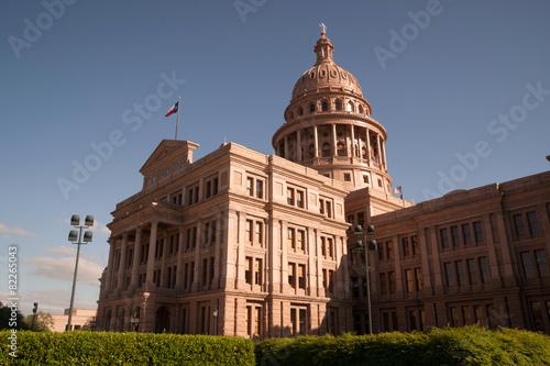 Foto op Plexiglas Texas Capital Building Austin Texas Government Building Blue Skies
