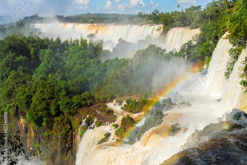 Wall Murals Waterfalls Iguassu Falls - Argentina