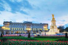 Buckingham Palace In London, G...