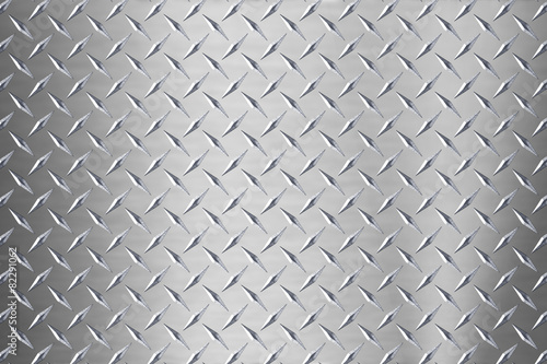Poster de jardin Metal background of metal diamond plate