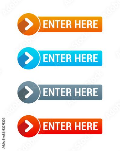 Fotografía  Enter Here Buttons