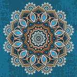 Abstract ethnic round ornament - 82293647