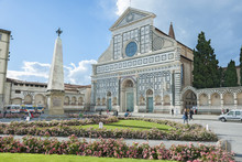 Church Of Santa Maria Novella In Florence, Tuscany, Italy.