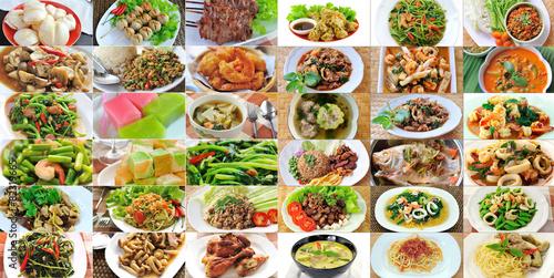 Leinwand Poster thai food