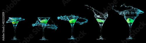 In de dag Alcohol Martini glass collection