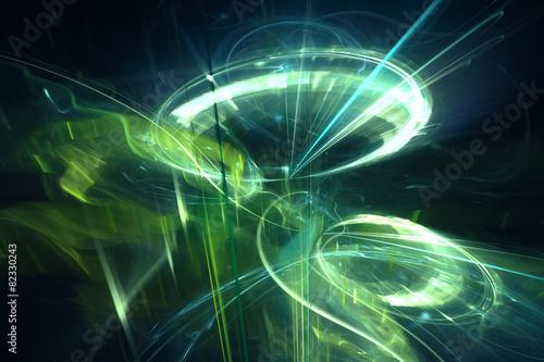 fototapeta na ścianę Abstract background technologii psychodeliczny