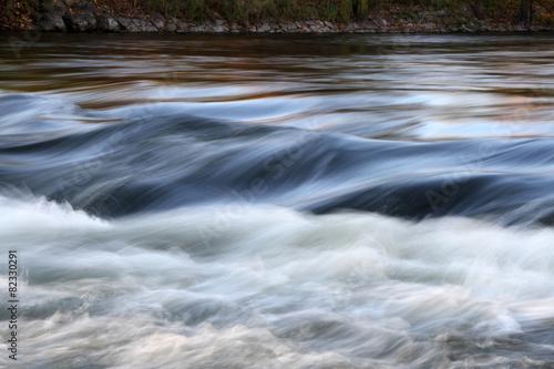 Fotografering  reissender Fluss