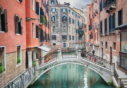 Fototapety, obrazy: canal of Venice, Italy