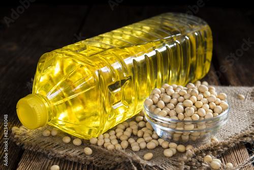 Bottle of Soy Oil