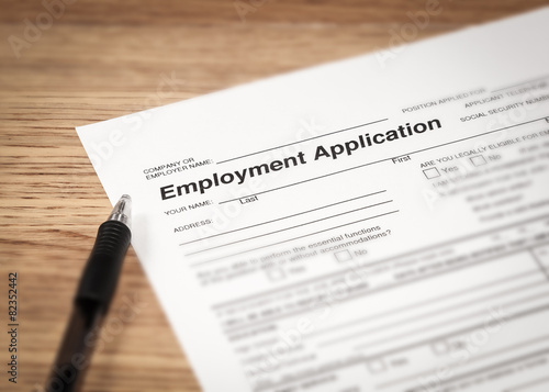 Fotografie, Obraz  Employment Application