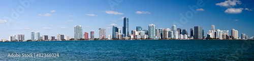 Foto op Plexiglas Chicago Miami Skyline