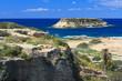 Rocky uninhabited small island Geronisos. Cyprus