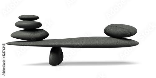 Fotografía  Balance. 3D. Stone Balance