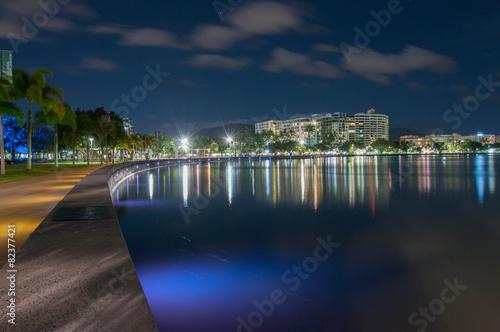 Tela City night lights