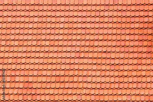 Fotografie, Obraz  Roof tile pattern