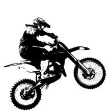 Rider Participates Motocross C...