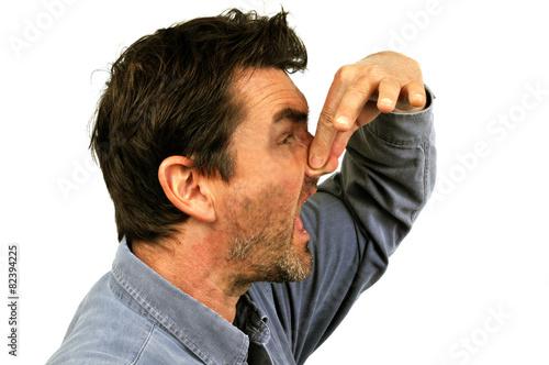Obraz na plátne Les mauvaises odeurs