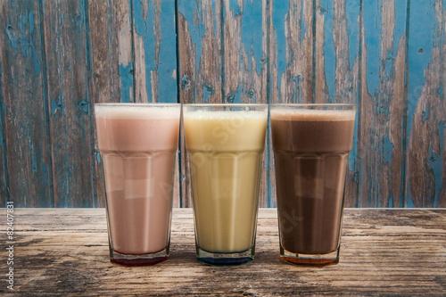 Fotografie, Obraz  Milkshakes