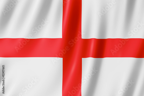 Flag of England - St George's Cross Poster Mural XXL