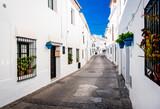 Fototapeta Uliczki - Picturesque street of Mijas