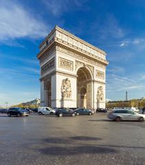 Fototapeta na wymiar Arc de Triomphe