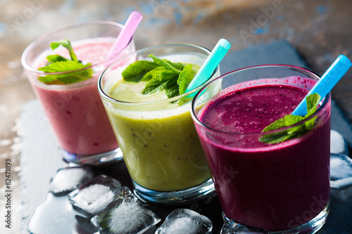 Canvas Print smoothie