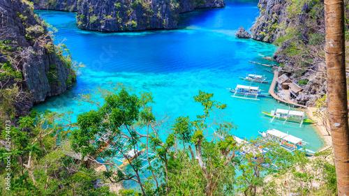 fototapeta na szkło Wyspa Filipiny Coron