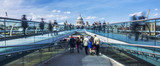Panoramic view of the Millenium footbridge - 82489650