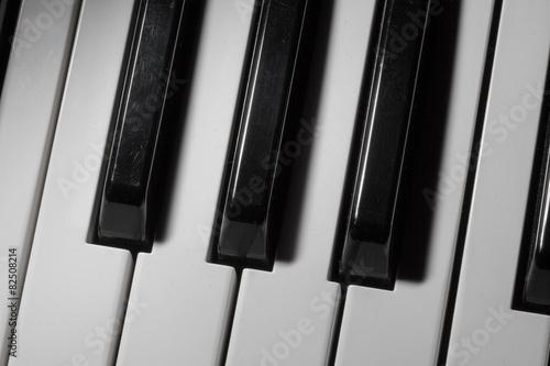 piano keys Fototapet