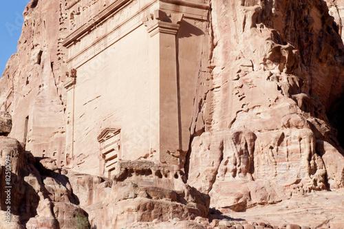 Fotobehang Midden Oosten Stairs from Petra, Jordan
