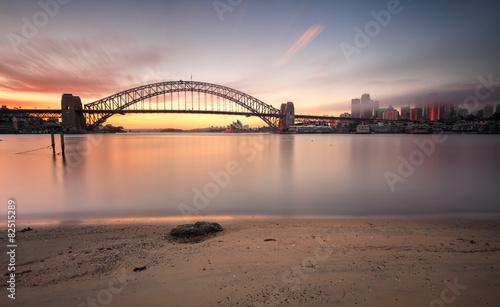 Sunrise Sydney cityscape Australia