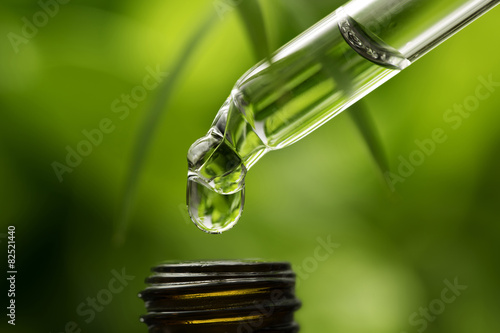 Herbal essence Dropper Canvas Print