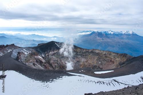 Staande foto Vulkaan Misti volcano or El Misti near Arequipa city, Peru