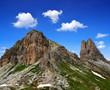 Mountain landscape - Sexten Dolomites, South Tyrol, Italy