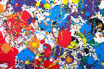 Fototapeta Abstrakcja abstract vivid painting