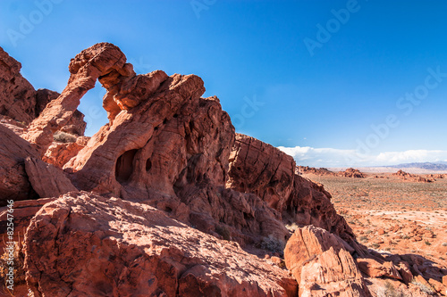 Elephant Rock Valley of Fire Poster