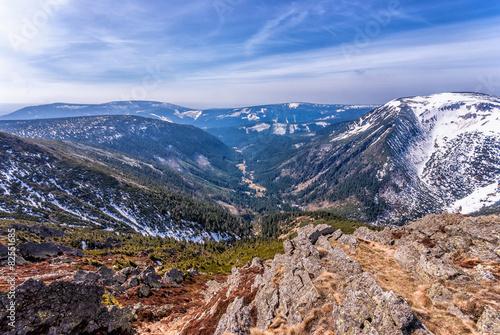 obraz dibond Góry, Karkonosze