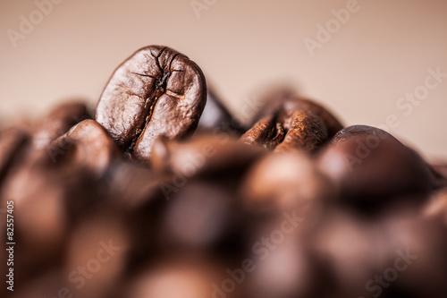 Deurstickers Koffiebonen Coffee beans