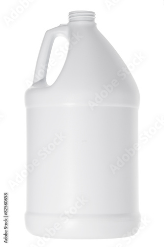 Fotografie, Obraz White plastic gallon jug isolated