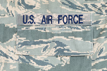 US Air Force Tigerstripe Digit...