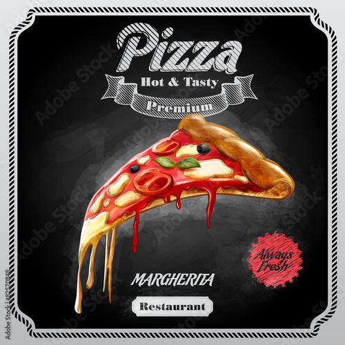 MENU PIZZA VINTAGE - 82570848